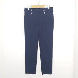 89th & Madison | Blue Straight Leg Dress Pants S